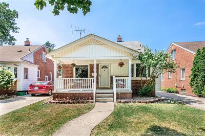 Allen Park Single Family Home For Sale: 9344 Melbourne Avenue