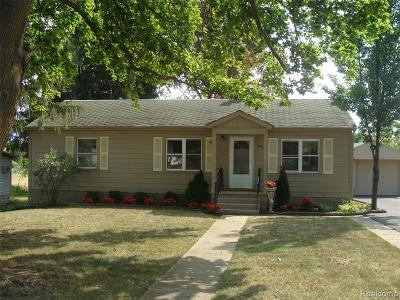 Single Family Home For Sale: 3811 N Mill Road