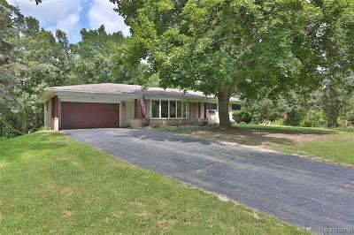 Brandon Twp Single Family Home For Sale: 2901 Flint Road