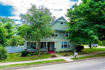 Single Family Home For Sale: 91 W High Street