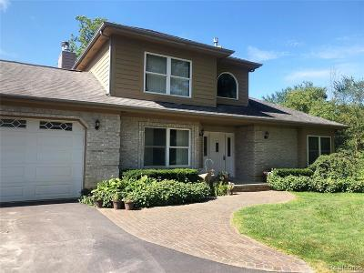 Brandon Twp Single Family Home For Sale: 1036 Lockwood Road