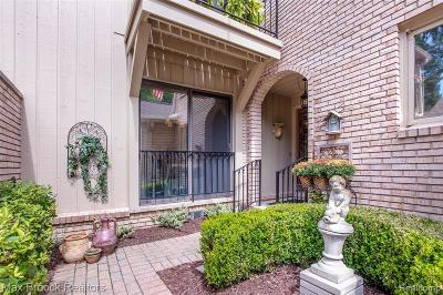 Bloomfield Twp Condo/Townhouse For Sale: 1171 Timberview Trail