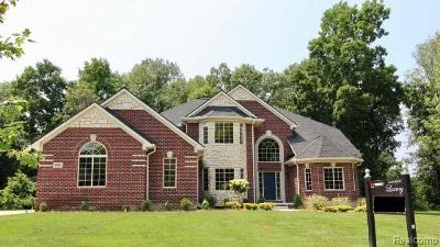 City Of The Vlg Of Clarkston, Clarkston, Independence Twp Single Family Home For Sale: 8939 Hunters Creek
