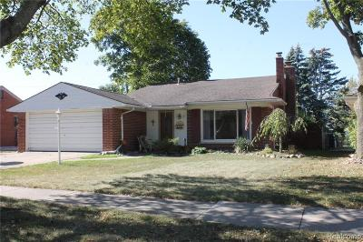 Allen Park, Lincoln Park, Southgate, Wyandotte, Taylor, Riverview, Brownstown Twp, Trenton, Woodhaven, Rockwood, Flat Rock, Grosse Ile Twp, Dearborn, Gibraltar Single Family Home For Sale: 4070 Norwood Drive