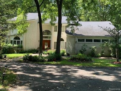 Bloomfield Twp Single Family Home For Sale: 5230 Franklin Road