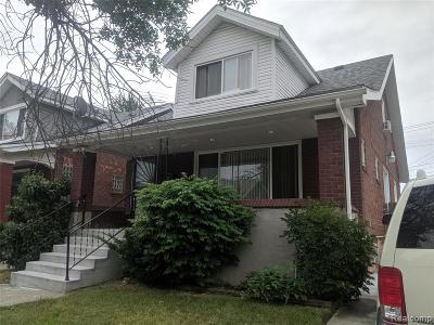 Detroit Single Family Home For Sale: 14446 Kilbourne