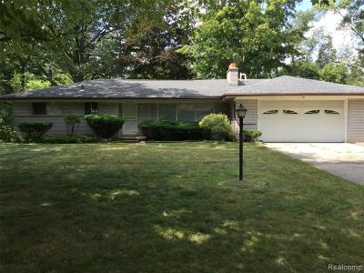 Southfield Single Family Home For Sale: 21345 Avon Lane