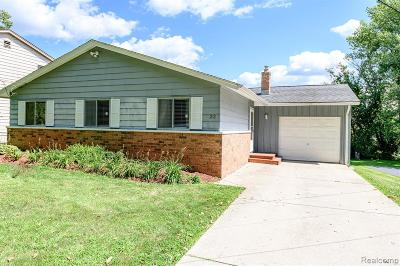Hartland Twp Single Family Home For Sale: 22 W Peterson Drive
