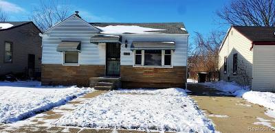 Detroit Single Family Home For Sale: 19697 Dwyer Street