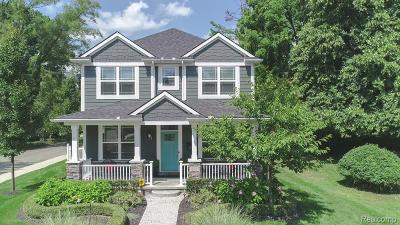 Rochester, Rochester Hills Single Family Home For Sale: 303 Terry Avenue
