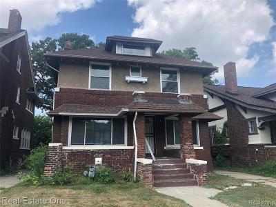Detroit Single Family Home For Sale: 2454 Virginia Park Street