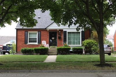Allen Park Single Family Home For Sale: 15237 Oceana Avenue