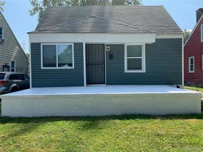 Detroit Single Family Home For Sale: 1045 Ethel