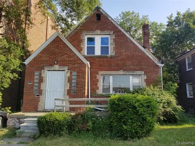 Detroit Single Family Home For Sale: 14104 Fordham Street