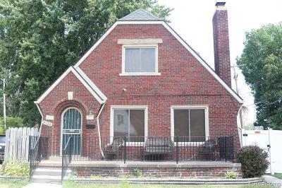 Detroit Single Family Home For Sale: 9130 Devonshire Road