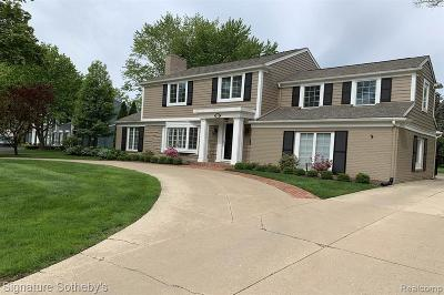 Bloomfield Twp Single Family Home For Sale: 559 N Cranbrook Road
