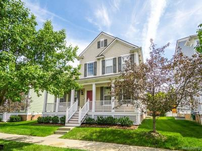 Novi Single Family Home For Sale: 42551 Whitman Way
