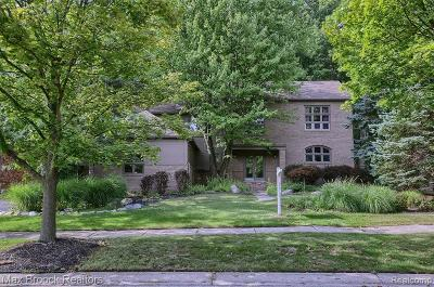 West Bloomfield Single Family Home For Sale: 6578 Torybrooke Circle