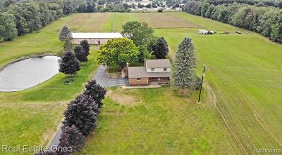 Oakland County Single Family Home For Sale: 3690 Dartmouth Road