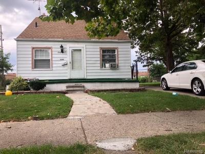 Detroit Single Family Home For Sale: 6080 Rosemont