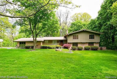 Bloomfield Hills Residential Lots & Land For Sale: 1200 Burnham Road