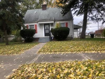Detroit Single Family Home For Sale: 6129 Minock