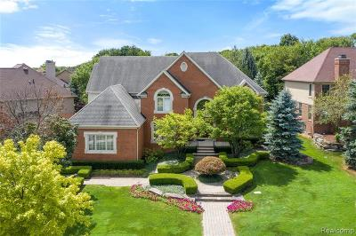West Bloomfield Twp Single Family Home For Sale: 6604 Chelsea Bridge