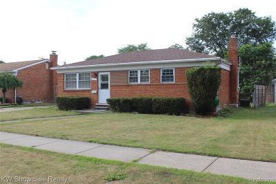 Warren Single Family Home For Sale: 11377 Mae Avenue