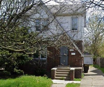 Detroit Single Family Home For Sale: 20274 Fairport St