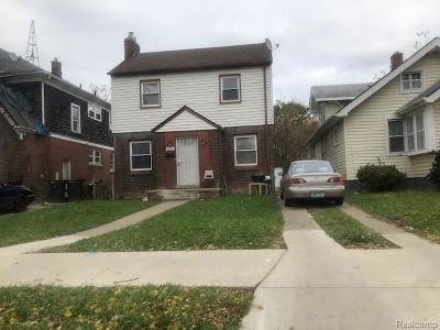Detroit Single Family Home For Sale: 6844 Minock