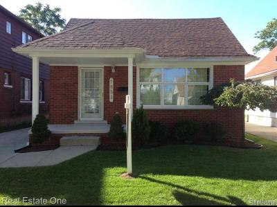 Dearborn Single Family Home For Sale: 7851 Coleman St