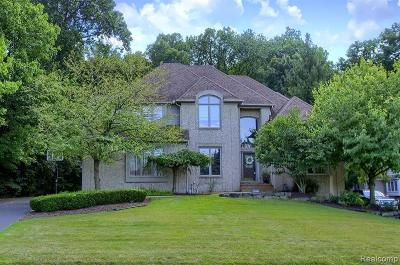West Bloomfield Twp Single Family Home For Sale: 6323 Wildwood Lane