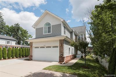 Canton, Plymouth Single Family Home For Sale: 432 N Sheldon Road
