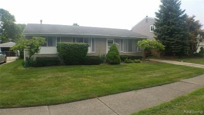 Garden City, Westland, Plymouth Twp, Canton Twp Single Family Home For Sale: 547 S Bryar Street