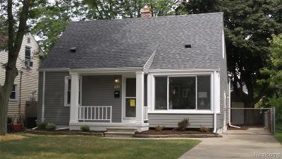 Royal Oak Single Family Home For Sale: 225 Girard Avenue
