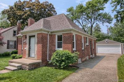 Royal Oak Single Family Home For Sale: 1605 Ferris Ave>