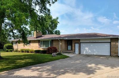 Single Family Home For Sale: 3496 Seymour Road