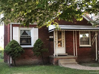 Lincoln Park Single Family Home For Sale: 1203 Garfield Avenue