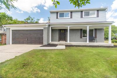 Farmington Hills Single Family Home For Sale: 29106 Glencastle Drive