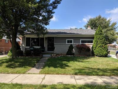 Taylor Single Family Home Contingent - Continue To Show: 23781 Irving Street