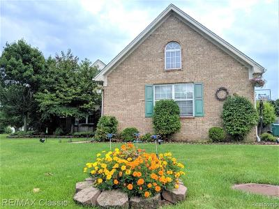 Brownstown Twp, Flat Rock Single Family Home For Sale: 32951 Kelly Boulevard