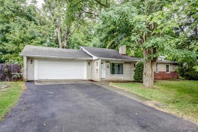 Novi Single Family Home For Sale: 214 N Haven Street