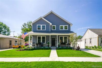 Berkley Single Family Home For Sale: 3083 Griffith Avenue