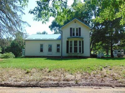 Single Family Home For Sale: 7222 Tucker Road