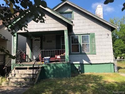 Single Family Home For Sale: 9609 Burnette Street