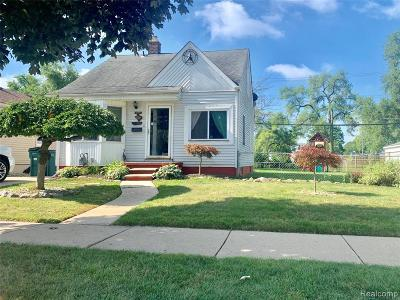 Lincoln Park Single Family Home For Sale: 2125 Euclid Street