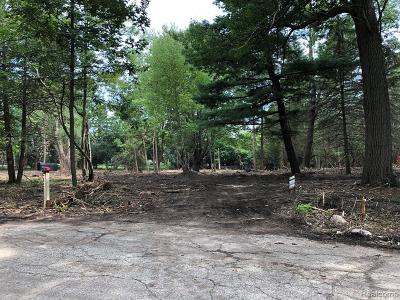 Bloomfield Twp Residential Lots & Land For Sale: 307 Kendry