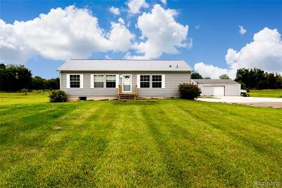 Single Family Home For Sale: 12559 Barnes Road