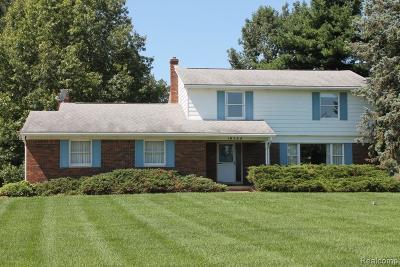 Hartland Twp Single Family Home For Sale: 10564 Blaine Road