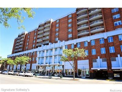Birmingham Condo/Townhouse For Sale: 411 S Old Woodward Avenue #913